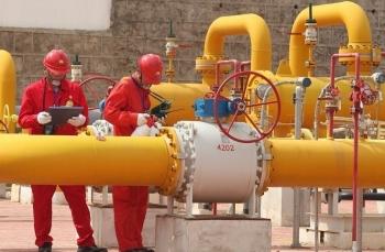 """Trung Quốc: Sản lượng khí đốt tự nhiên tăng trưởng """"chóng mặt"""""""