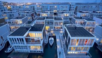 Cách người Hà Lan xây dựng nhà cực thông mình nhằm đối phó với biến đổi khí hậu và vấn nạn nhà ở