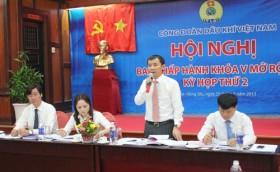 Công đoàn DKVN tổ chức hội nghị Ban Chấp hành khóa V mở rộng