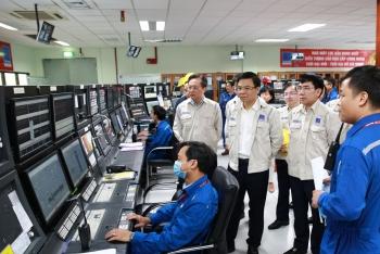 Tổng giám đốc PVN Lê Mạnh Hùng làm việc tại BSR