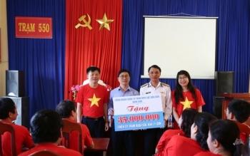 Công đoàn Dầu khí Việt Nam thăm và tặng quà tại huyện đảo Lý Sơn