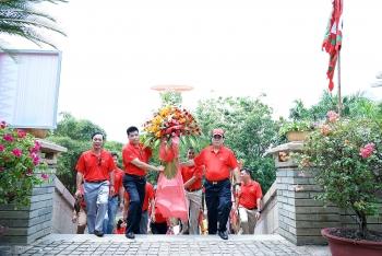Đảng bộ BIENDONG POC dâng hương tưởng niệm các Vua Hùng