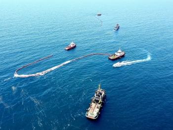 BSR tổ chức diễn tập ứng phó sự cố tràn dầu 2020