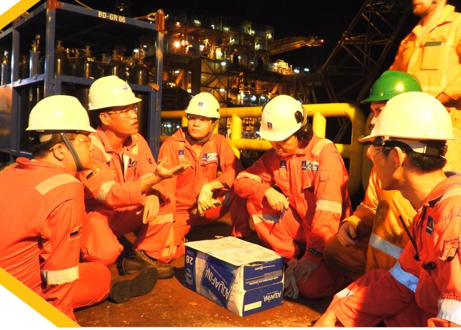BIENDONG POC vượt qua nhiều thách thức trong chiến dịch bảo dưỡng cụm giàn Hải Thạch – Mộc Tinh