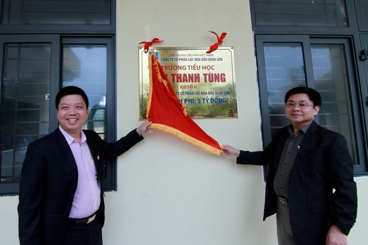 Khánh thành trường học do BSR tài trợ tại Quảng Nam