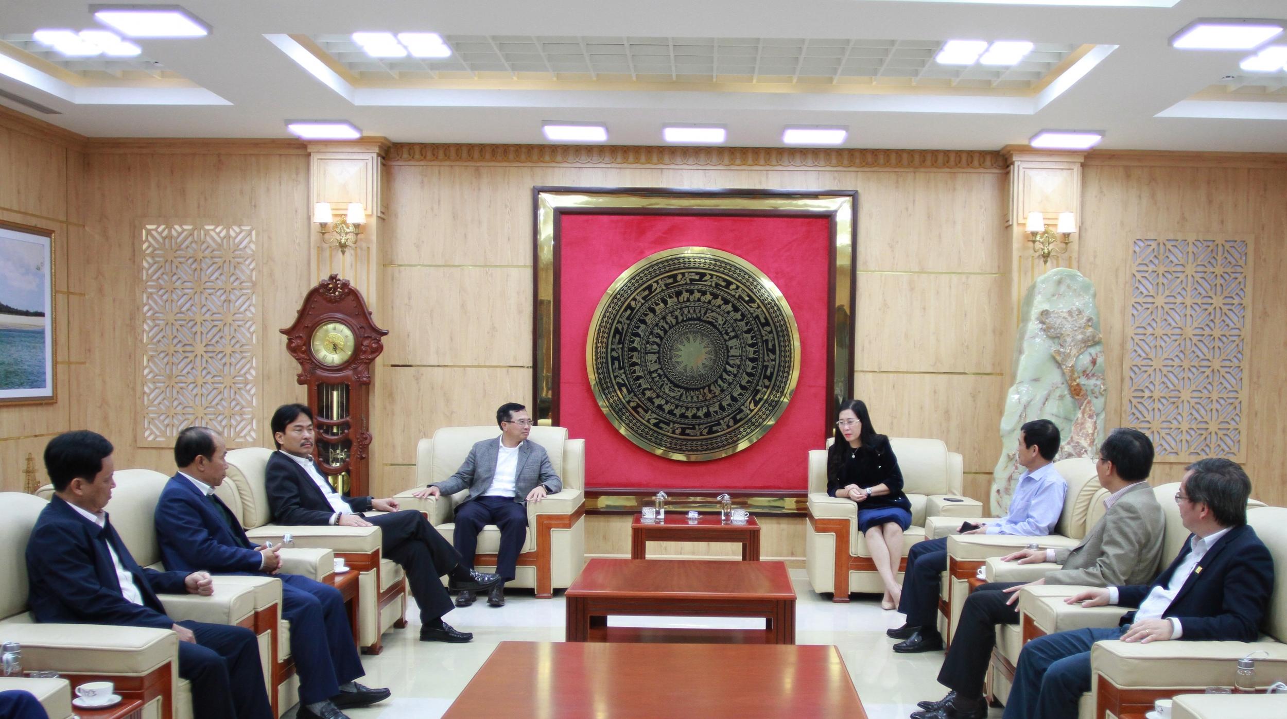 Chủ tịch HĐTV Petrovietnam làm việc với Tỉnh uỷ Quảng Ngãi