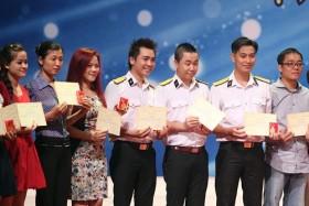 Liên hoan Nghệ thuật quần chúng CNVC-LĐ 2013: Công đoàn Dầu khí thắng lớn