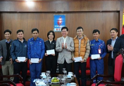 Ban quản lý KKT Dung Quất thăm và chúc Tết BSR