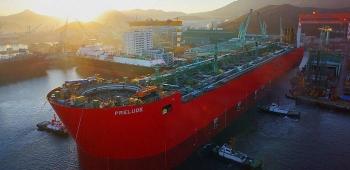 Shell tái khởi động sản xuất tại dự án Prelude khi giá LNG tăng vọt