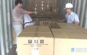 VNPOLY xuất bán sợi DTY để sản xuất khẩu trang phòng, chống dịch nCoV