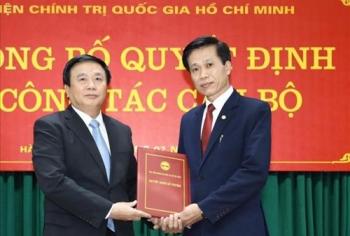 Học viện Chính trị Quốc gia Hồ Chí Minh có hai phó giám đốc mới