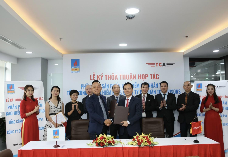 Bảo hiểm PVI và TC Advisors ký Thoả thuận hợp tác và triển khai Bảo hiểm trách nhiệm dân sự bắt buộc
