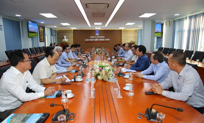 Viện Hàn lâm Khoa học Xã hội Việt Nam thăm và làm việc tại BSR