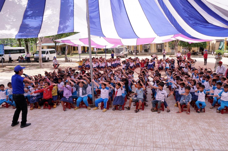 Chương trình ASXH về nguồn với chủ đề Ngày hội thống nhất của Đoàn Thanh niên Khối Nhà máy BSR