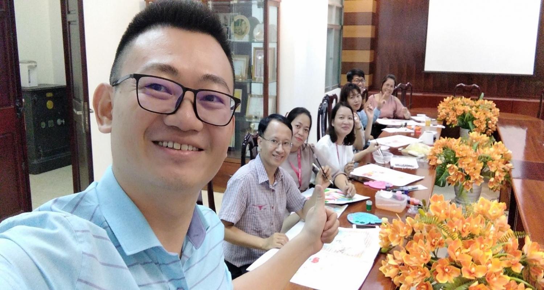 """Bảo hiểm PVI Vũng Tàu góp phần tô điểm công trình """"Đường tranh bích họa"""" tại Vũng Tàu"""