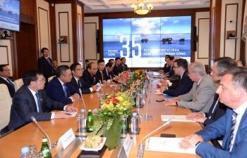 Thủ tướng Nguyễn Xuân Phúc thăm và làm việc tại Công ty Cổ phần Zarubezhneft
