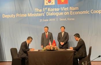 Hoạt động của đoàn công tác Petrovietnam tại Seoul, Hàn Quốc