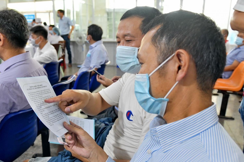 BSR triển khai tiêm vắc-xin phòng Covid-19 cho người lao động