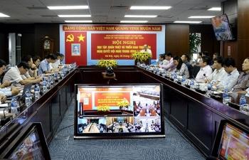 Đảng ủy EVN tổ chức học tập, quán triệt Nghị quyết Hội nghị Trung ương 7 khóa XII