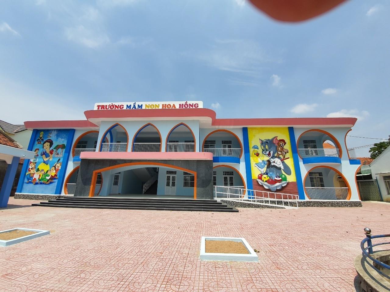 BSR kiểm tra công trình ASXH Trường Mầm non Hoa Hồng (Phú Yên)