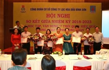Công đoàn BSR tổ chức Hội nghị sơ kết giữa nhiệm kỳ 2018-2023