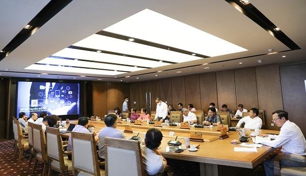Văn phòng trình bày đề án chuyển đổi số tại PVN