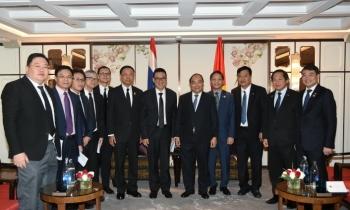 Thủ tướng Nguyễn Xuân Phúc tiếp lãnh đạo các tập đoàn hàng đầu Thái Lan