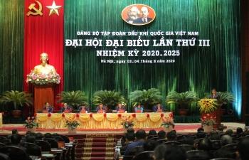 Toàn văn Bài phát biểu của Bí thư Đảng ủy Khối Doanh nghiệp Trung ương tại Đại hội Đảng bộ Tập đoàn Dầu khí Quốc gia Việt Nam lần thứ III