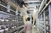 VNPOLY vượt khó nâng công suất sản xuất sợi DTY