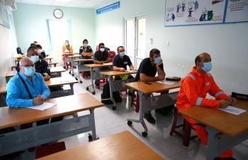 249 chuyên gia nước ngoài đã làm việc trong BDTT lần 4 NMLD Dung Quất
