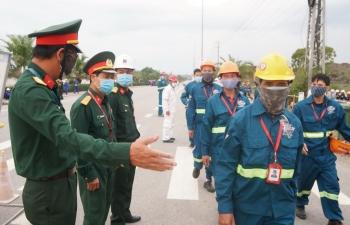 Hội Cựu chiến binh BSR với công tác an ninh, an toàn BDTT lần 4 NMLD Dung Quất
