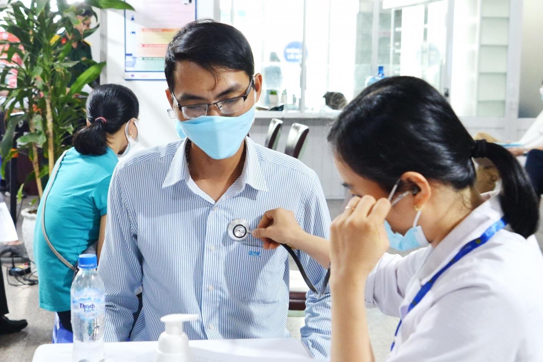 BSR hoàn thành tiêm mũi thứ nhất vắc xin ngừa Covid-19 cho người lao động