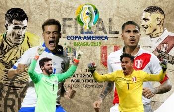 Link xem trực tiếp bóng đá Brazil vs Peru (Giao hữu), 9h30 ngày 11/9