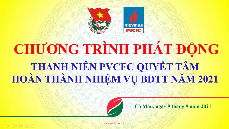 Đoàn Thanh niên PVCFC với công tác phòng chống dịch Covid-19 duy trì sản xuất An toàn - Ổn định – Hiệu Quả
