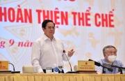 Thủ tướng: Mọi chính sách, pháp luật phải hướng tới người dân và doanh nghiệp