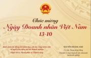 Chủ tịch Ủy ban Quản lý vốn nhà nước tại doanh nghiệp gửi Thư chúc mừng nhân Ngày Doanh nhân Việt Nam