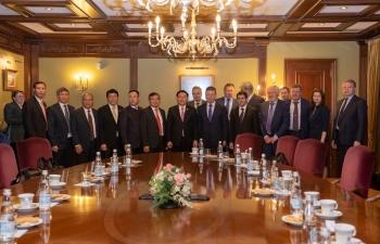 Tiếp tục khuyến khích, tạo điều kiện thuận lợi cho các hoạt động hợp tác dầu khí Việt - Nga