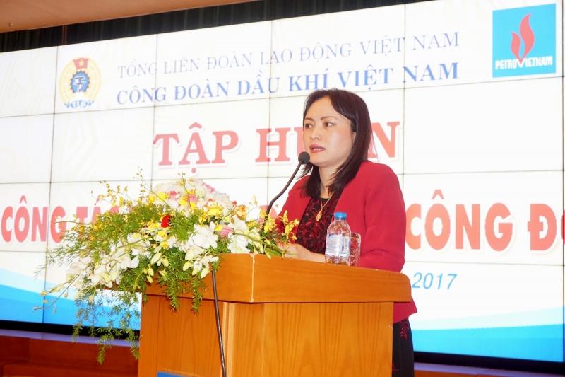 cong doan dkvn tap huan cong tac to chuc dai hoi cong doan co so tai 5 khu vuc