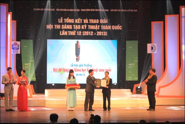 Xí nghiệp Xây lắp (Vietsovpetro) đạt giải Nhất Hội thi Sáng tạo kỹ thuật toàn quốc