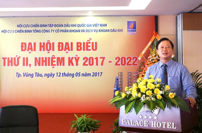 dai hoi dai bieu hoi cuu chien binh pv drilling nhiem ky 2017 2022
