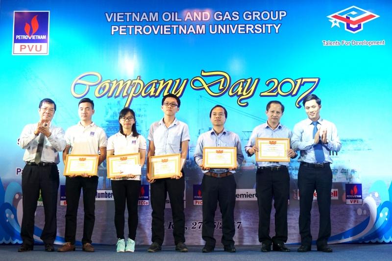 14 doanh nghiep tham gia ngay hoi huong nghiep company day 2017