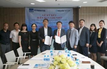 Petrosetco và Huvis Water ký kết thỏa thuận hợp tác trong lĩnh vực xử lý nước