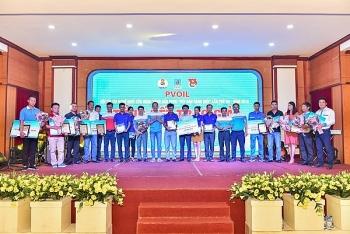 """PVOIL Vũng Áng đạt giải Nhất hội thi """"Đội bán hàng giỏi"""" năm 2018 khu vực phía Bắc"""
