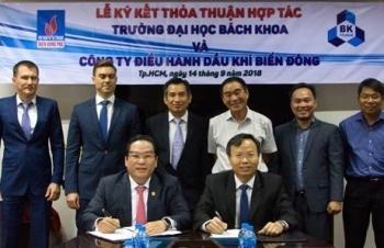 BienDong POC và Trường ĐH Bách khoa TPHCM ký thỏa thuận hợp tác