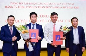 Đồng chí Nguyễn Tiến Vinh nhận nhiệm vụ Bí thư Đảng ủy PVFCCo