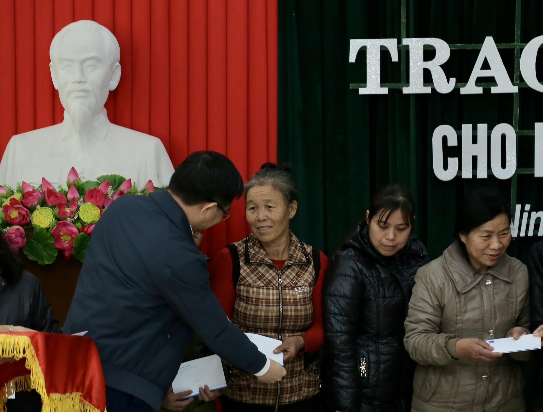 Petrovietnam hỗ trợ người nghèo tỉnh Ninh Bình