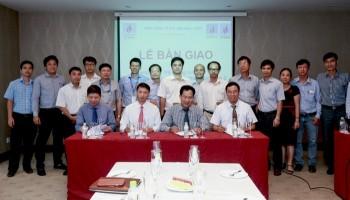 """Bàn giao hệ thống xuất khí 26"""" dự án đường ống dẫn khí Nam Côn Sơn 2"""