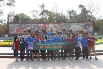 Đoàn Thanh niên BIENDONG POC tổ chức về nguồn