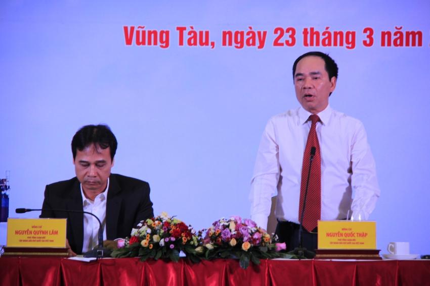 pvn to chuc thanh cong hoi nghi tham do khai thac nam 2018