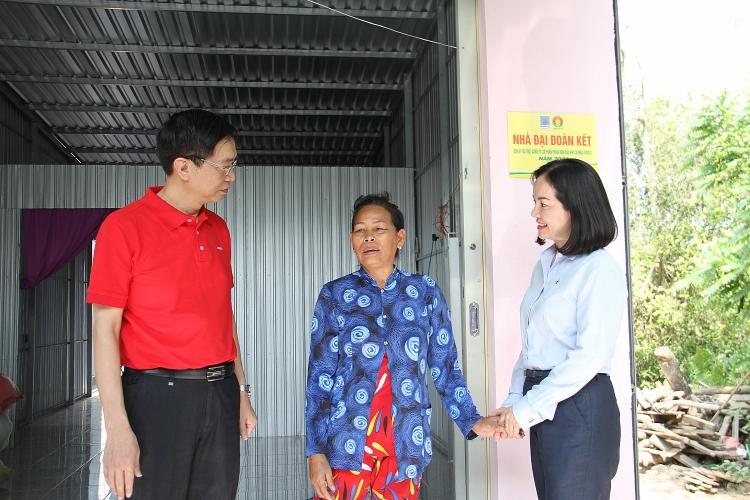 Petrovietnam, PVCFC bàn giao 3 nhà đại đoàn kết tại xã Khánh Hội, huyện U Minh, tỉnh Cà Mau